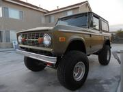 1973 FORD Ford Bronco 4X4